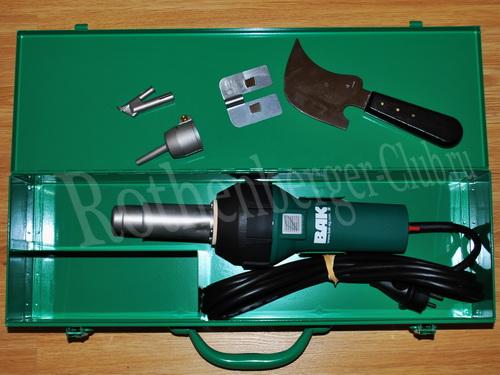 G990002 сварочный комплект PlastWelder