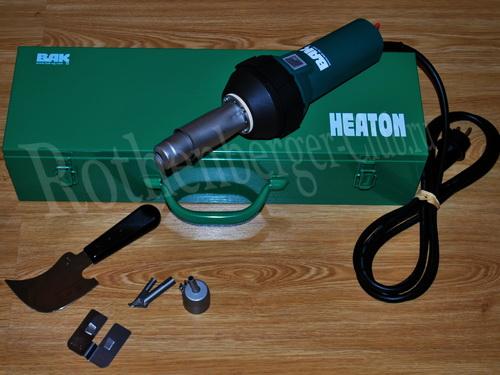 G990002 PlastWelder ECO комплект для сварки прутком с феном